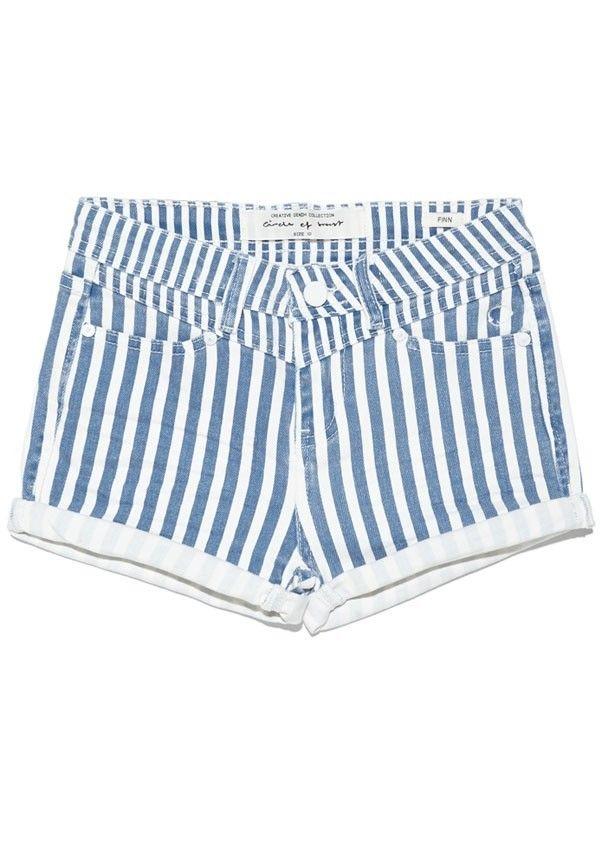 Girls Finn Short Stripes