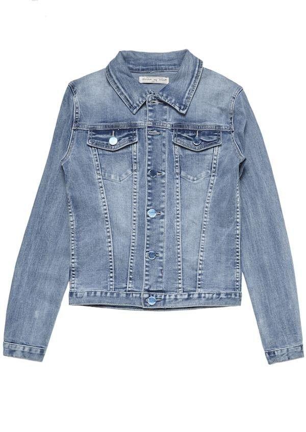 Girls Mara Denim Jacket Slate Sky