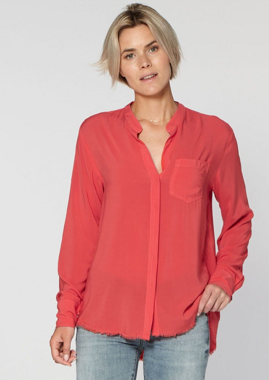 Lola Blouse Red Rules