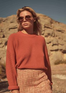 Milly Knit Burnt Rust