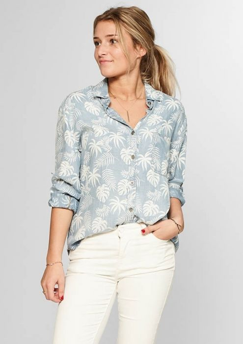 Lily Blouse Leafs