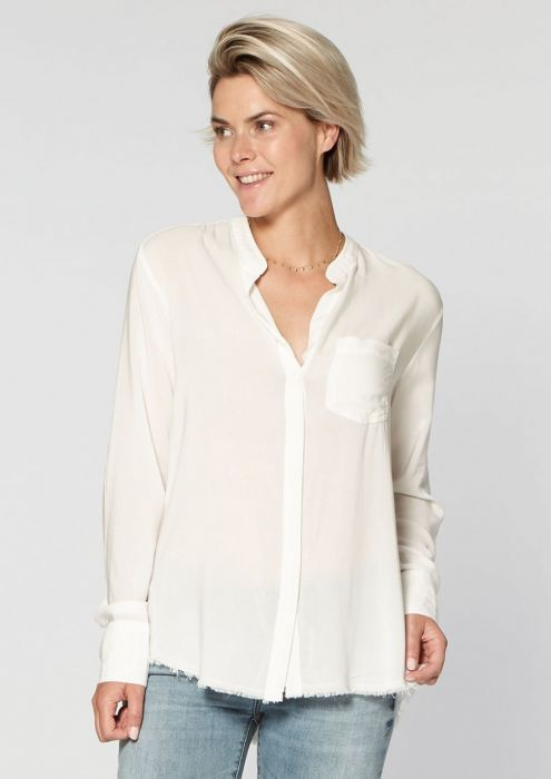 Lola Blouse White Bleached