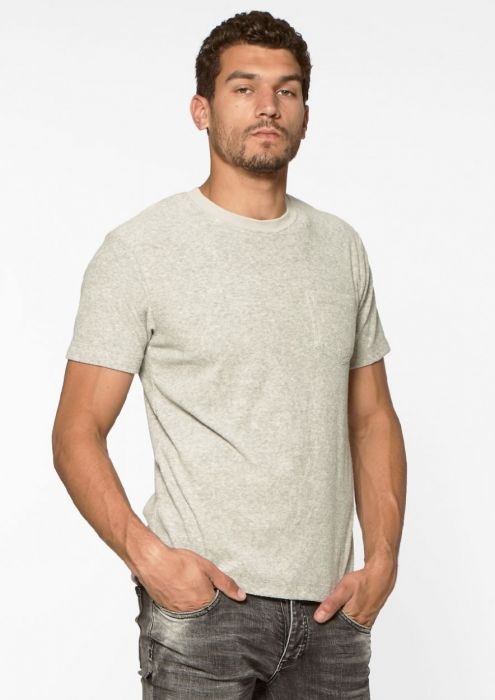 Beau Tee Light Grey Melange