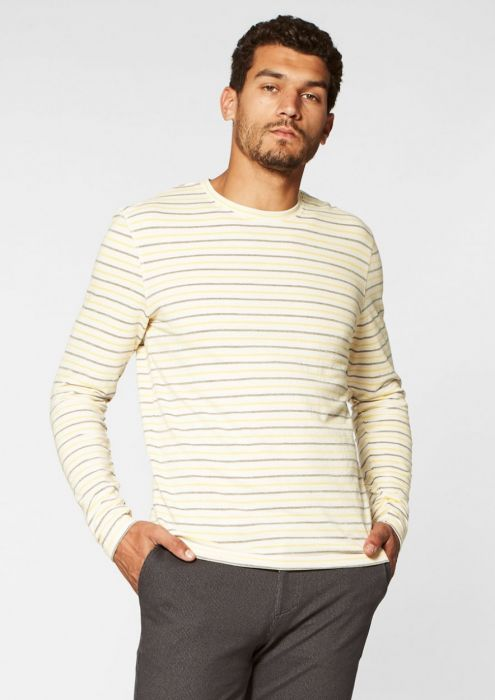 Tanner Longsleeve Yellow stripes