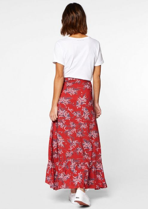 Emmy Wrap Skirt Red Rules