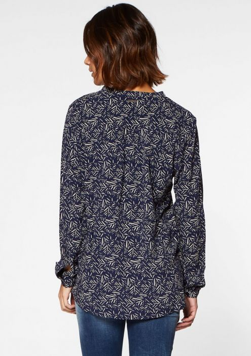 Palma Blouse Blue Night