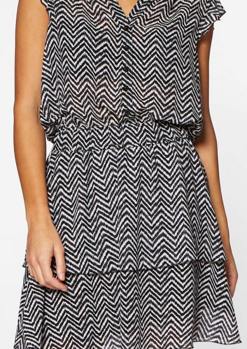 Gaby Dress Crazy Zebra