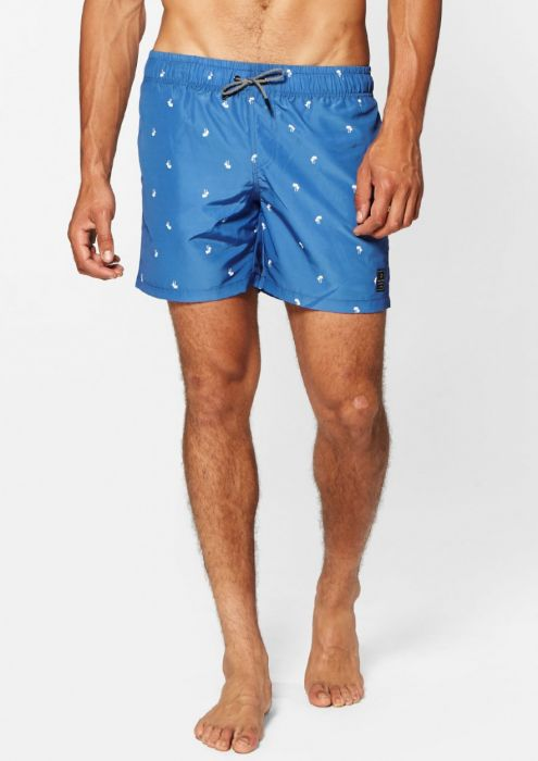 Felix Swim Short Blurry Blue