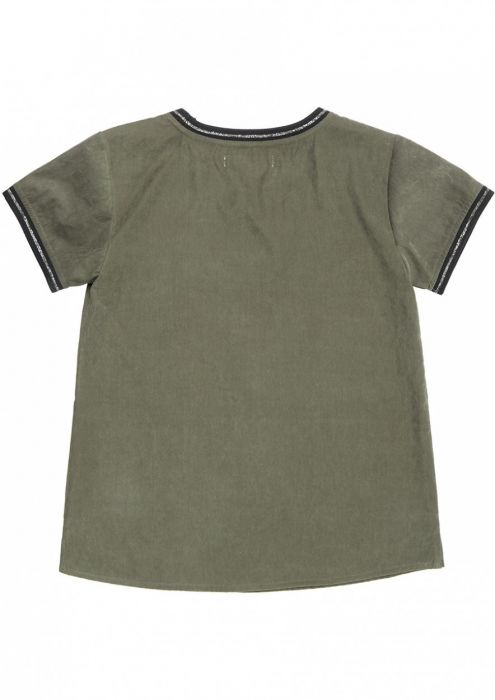 Girls Nicole Tee Raw Umber