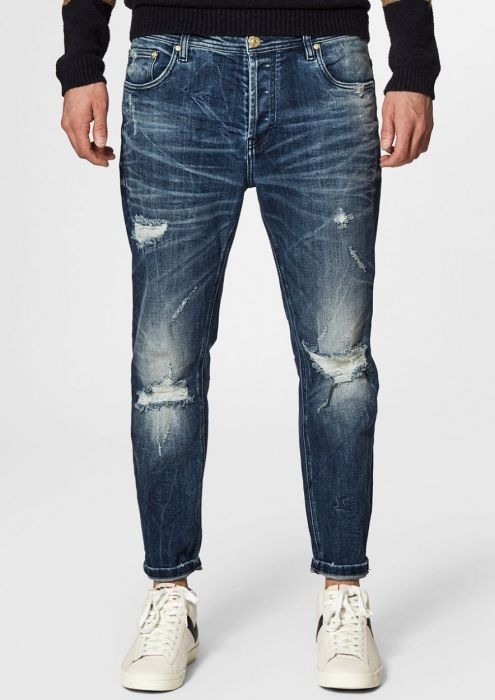 Jimmy Tornado Blue - Loose Tapered Fit