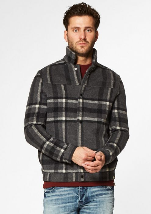 Tord jacket Charcoal Check