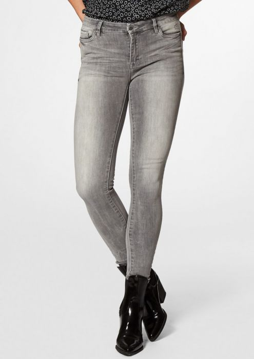 Basil Washed Grey - Skinny Fit