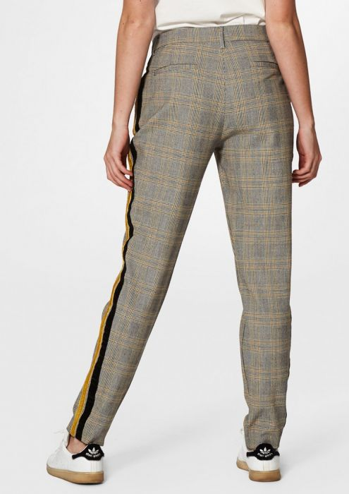 AGGY PANTS DARK HONEY