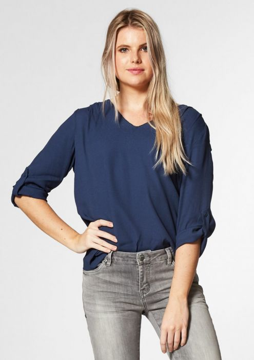 IZZY BLOUSE SARGOSSA SEA