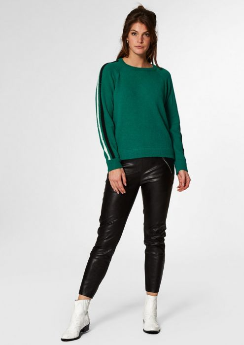 LIZE Jumper Green Edge