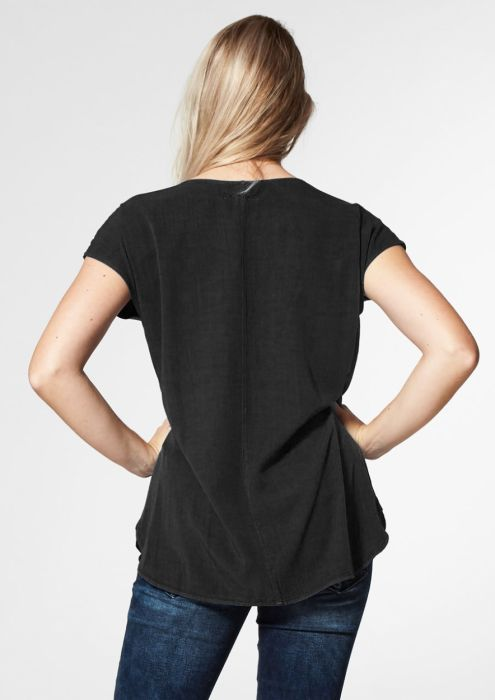DENA TOP Zwart Jet black