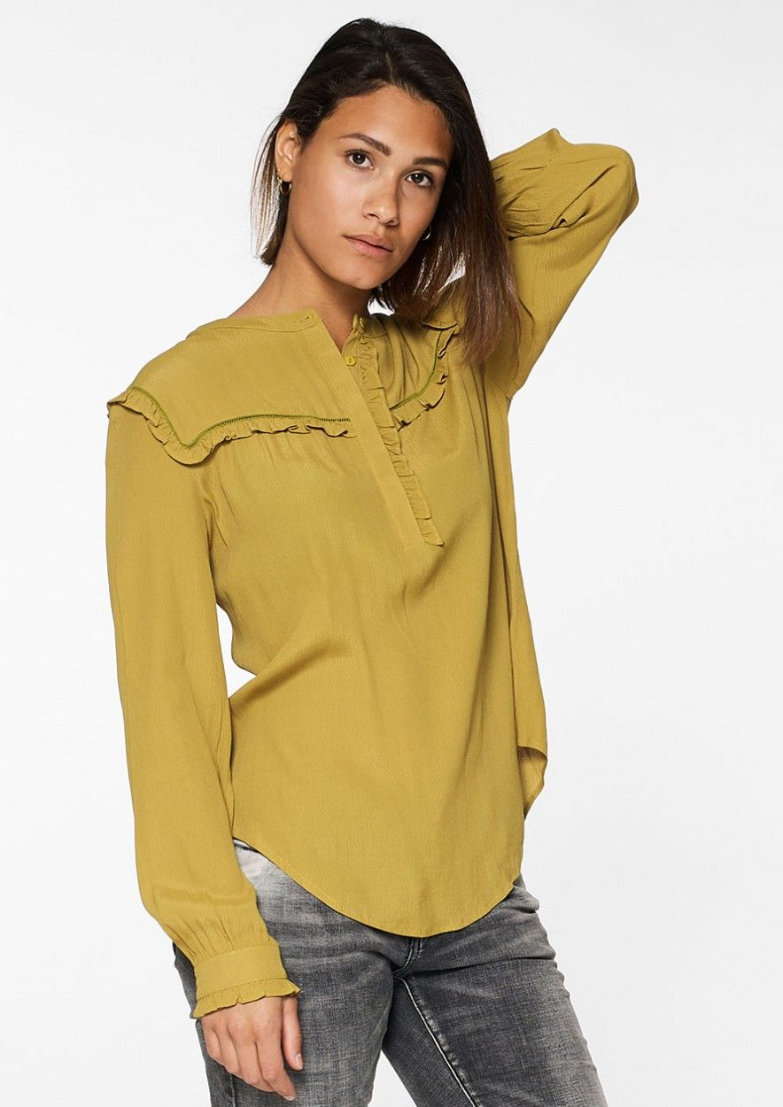 Merci Blouse Bright Brass