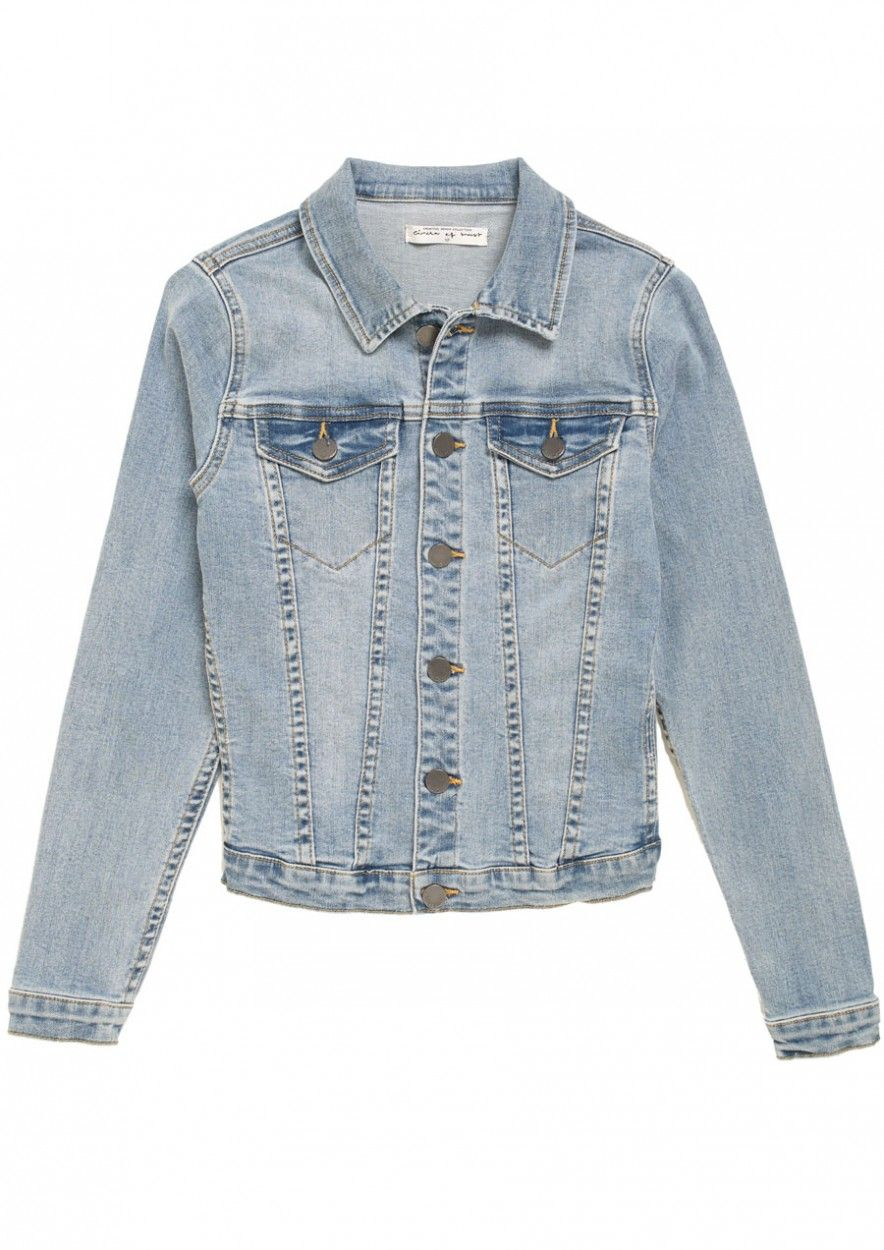 9044d6d6e Denim jacket for girls Mara Light Tumble Wash | Circle Of Trust official  webshop