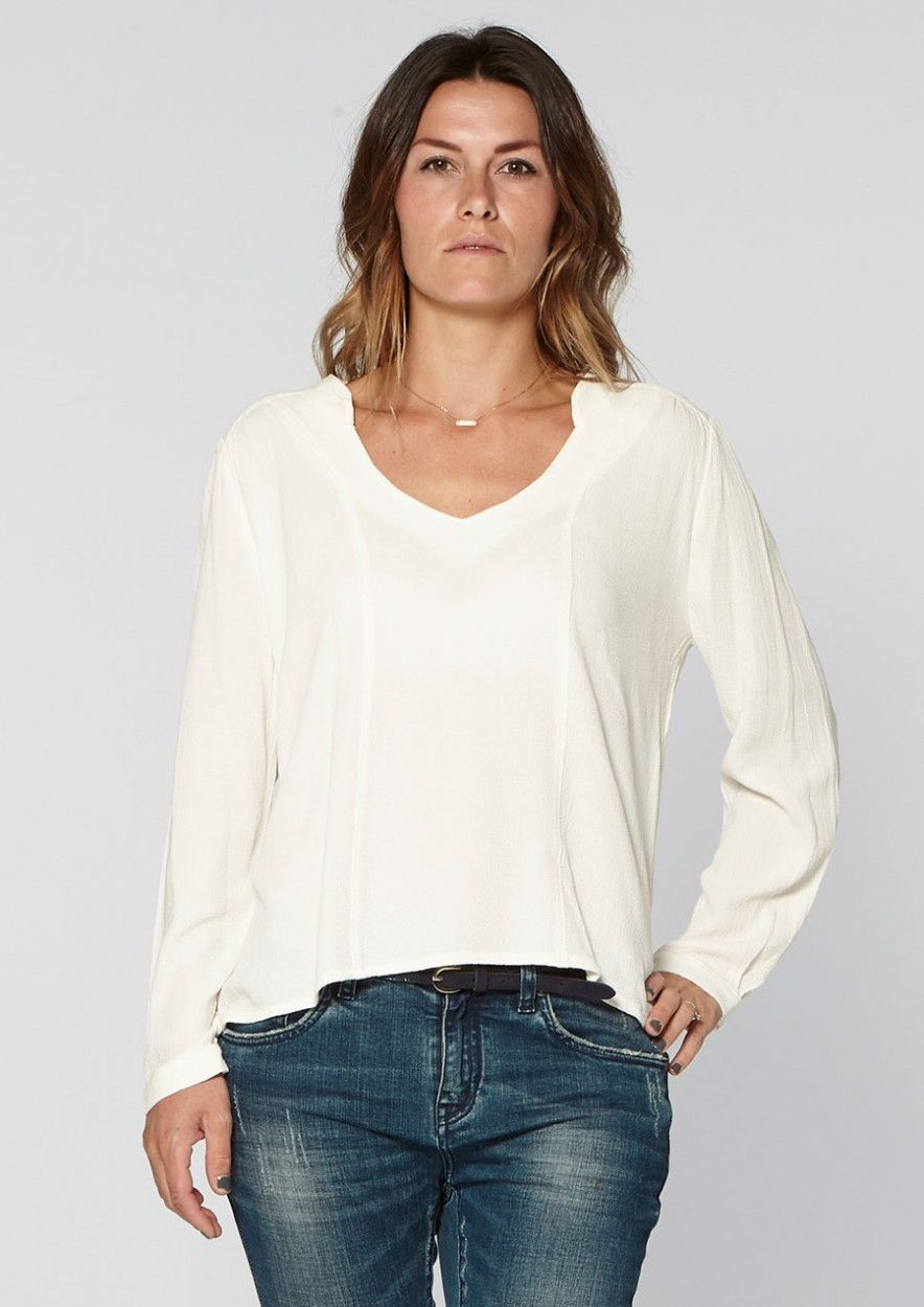 Eve Blouse White Dust