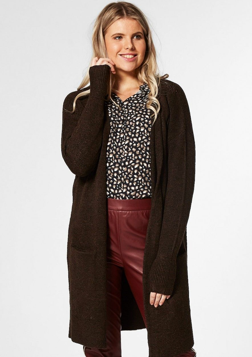 Julia Cardigan Coffee Bean