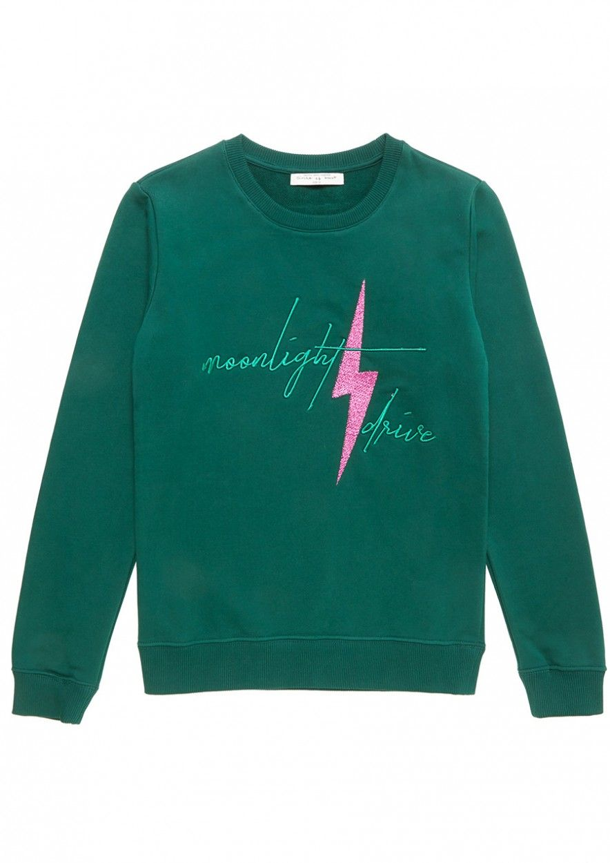 Girls Piper Sweater Groen