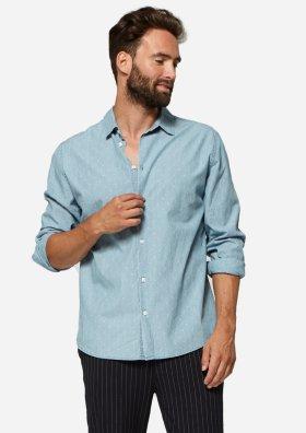 Calvin Shirt Dots Clear Blue